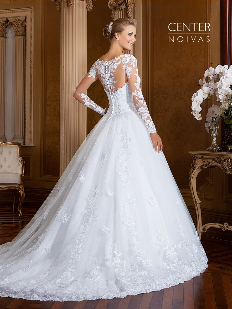 Ultima moda em vestidos de noiva