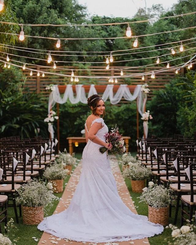 Vestido De Noiva Rj Casamento Boho Com Pâmella E Filipe