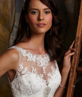 48. Vestido de Noiva by Ivana Beaumond Moda Noiva Mori Lee 5109  FT