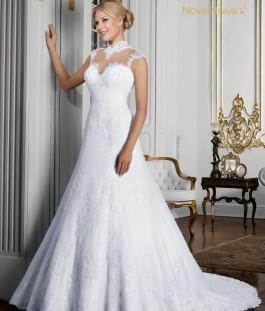 Vestido de Noiva By Ivana Beaumond Nova Noiva Poème - 08 - Frente_1071