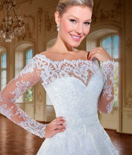vestido de noiva modelo versalhes ch115