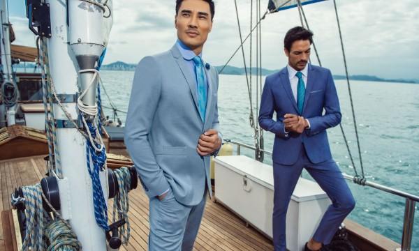 traje masculino terno azul claro noivos ivana beaumond atelier