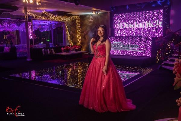 eduarda nicole fotos 15 anos atelier ivana beaumond vestido de debutante rosa pink preto (15)