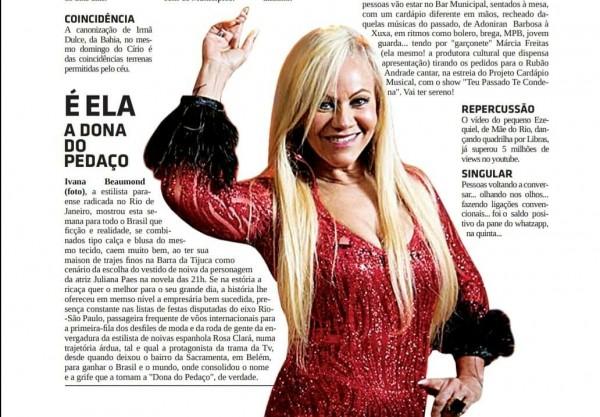 Ivana Beaumond A Dona do Pedaço Jornal do Pará