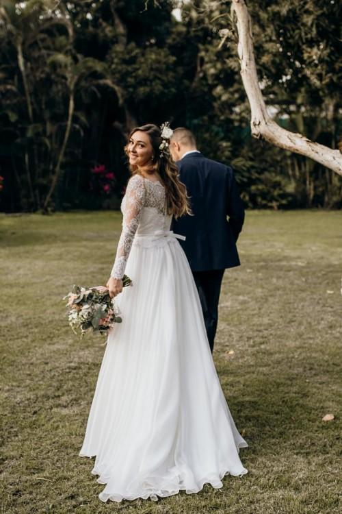 Vestido De Noiva Rj Casamento No Campo Com Nathália E Carlos