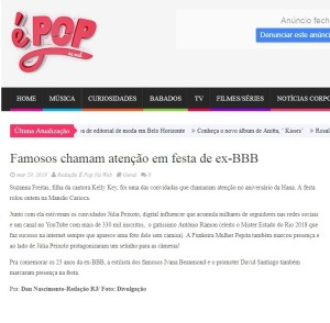 pop web ivana beaumond festa bbb